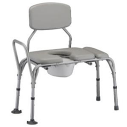 Nova Medical Products :: Padded Transfer Bench w/ Commode Cut-Out