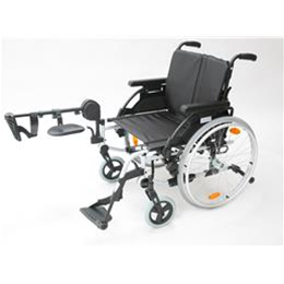 Image of Wheelchairs: Lightweight with elevating leg rests 1