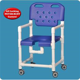 Image of PVC Shower Chair 2
