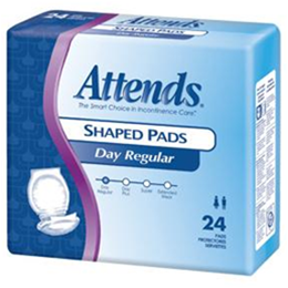 Image of Attends Shaped Pads 7