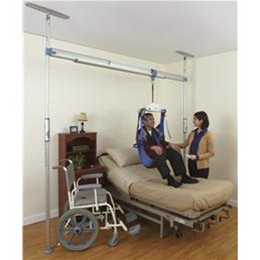 Various :: 2-Post Pressure Fit Track System With Ceiling Lift (Rental)