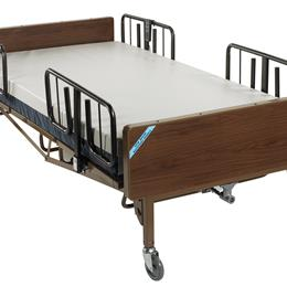 "Image of Full Electric Bariatric Hospital Bed, 48"" 7"