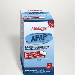 Image of APAP UNIT DOSE 2X325MG 500 TABS/BX 1