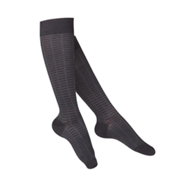Airway Surgical :: 1063 TOUCH Ladies' Compression Checkered Pattern Knee Socks