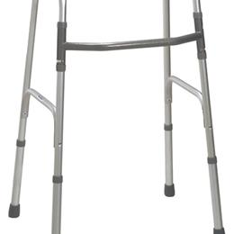 Drive Medical :: Deluxe One Button Folding Walker Adult