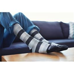 Therafirm :: Core-Spun Patterned Support Socks for Men and Women with Mild Support