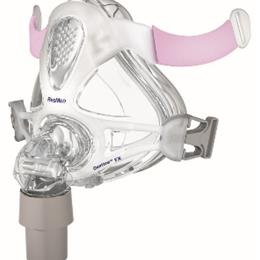 Image of Quattro™ FX for Her full face mask frame system with small cushion - no headgear 2