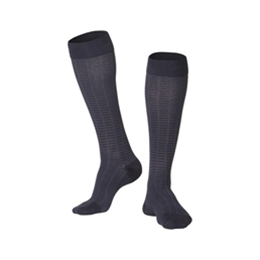 Airway Surgical :: 1013 TOUCH Men's Compression Checkered Pattern Knee Socks