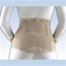 "FLA Orthopedics Inc. :: FLA Soft Form Lumbar Sacral Support, 11"" with Contoured Stays"