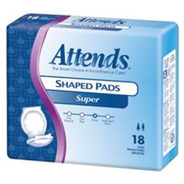Image of Attends Shaped Pads 3