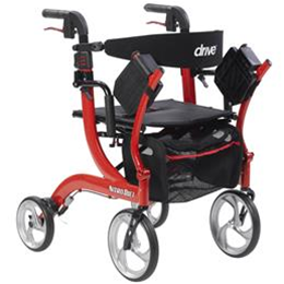 Image of Nitro Duet 2-in-1 Walker And Transport Chair