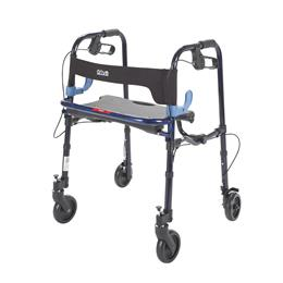 "Rollators :: Drive :: Clever Lite Rollator Junior Walker With 5"" Casters"