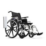 "Invacare Insignia 20"" x 18"" Frame w/Convertible, Adj Height Arms, Footrests and Flat-Free Tires Whee - The Invacare Insignia Whee"