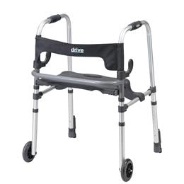Drive :: Clever Lite Ls Rollator Walker With Seat And Push Down Brakes
