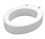 Elongated Raised Toilet Seat - 