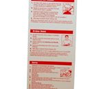 Emergency First Aid Card - These easy to read guides show how to treat mos common minor