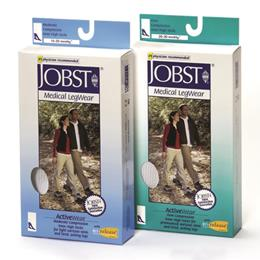 BSN - Jobst :: Jobst ActiveWear 15-20 Knee-Hi Socks White X-Large