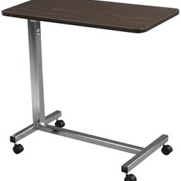 Drive Medical :: Overbed Table Non-Tilt w/Chrome Base & Mast