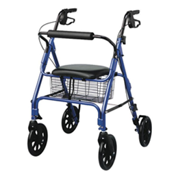"Medline :: Rollators with 8"" Wheels"