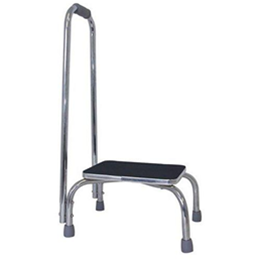 Image of FOOT STOOL W/SUPPORT HANDLE 2