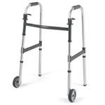 "C Frame Walker Adult - 5"" Fixed Wheels"