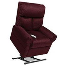 Image of Elegance Collection, 3 Position, Full Recline, Chaise Lounger Lift Chair, LC-450 2