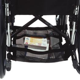 EZ-ACCESS :: EZ-ACCESSORIES® Wheelchair Underneath Carrier