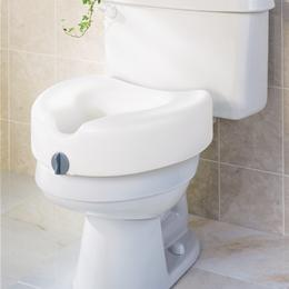 "Medline :: SEAT TOILET RAISED 5"" LOCKING GUARDIAN"