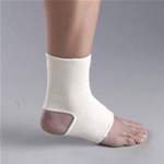 Firm Elastic Pullover Ankle Support - 