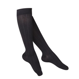 Airway Surgical :: 1062 TOUCH Ladies' Compression Ribbed Pattern Knee Socks