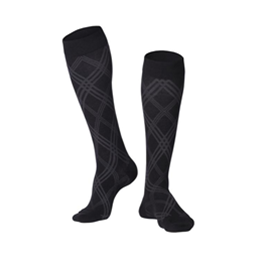 Airway Surgical :: 1024 TOUCH Men's Compression Argyle Pattern Knee Socks