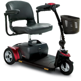 Pride Mobility Products :: Go-Go Elite Traveller® Plus 3-Wheeled Scooter