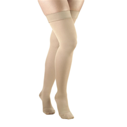 Airway Surgical :: 0364 TRUFORM Ladies' Opaque Thigh High Closed-Toe Stockings