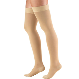 Airway Surgical :: 8848 TRUFORM Classic Compression Ladies' Thigh High, Closed Toe, Stay-Up Beaded Top, Stocking