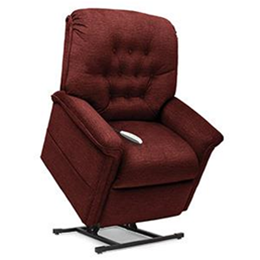 Pride Mobility Products :: Serenity Collection, 3 Position, Chaise Lounger Lift Chair, SR-358S