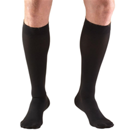 "Image of 8845S TRUFORM Classic Compression Ladies' Below Knee, Closed Toe, Short (15""), Stocking 3"