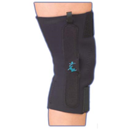 "AKSâ""¢ with Plastic Hinges - Neoprene Knee Support"