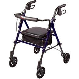 Carex Health Brands :: Carex Step 'N Rest® Rolling Walker