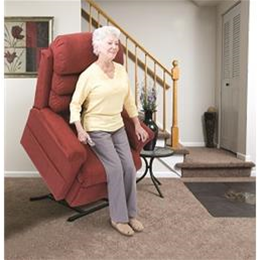 Pride Mobility Products :: Elegance Collection, 3-Position, Chaise Lounger Lift Chair, LC-570