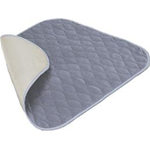 Velour Chair Pad, Blue