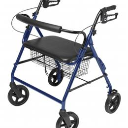 Image of Walkabout Four-Wheel Bariatric Rollator 3