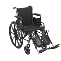Image of Drive Cruiser lll - Lightweight, Dual Axle Wheelchair w/ ELRs 2