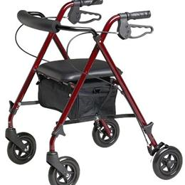 Image of LIGHTWEIGHT ROLLATOR / WALKER 1