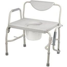Drive :: Deluxe Bariatric Drop-Arm Commode