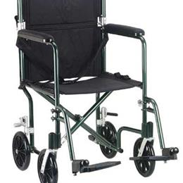 Drive Medical :: Transport Chair Flyweight 17  Silver
