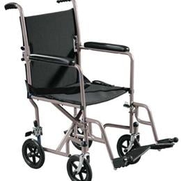 Image of Steel Transport Chair 1
