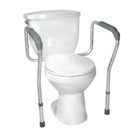 Drive :: Toilet Safety Frame with Height and Width Adjustable Arms