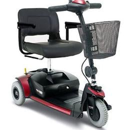 Pride Mobility Products :: Go-Go Elite Traveller® Plus HD 3-Wheeled Scooter