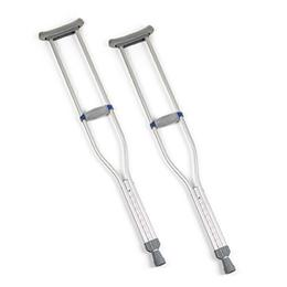 Image of Quick-Adjust Crutches - Adult 1