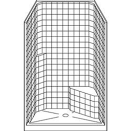 Image of Barrier Free Shower LCSS4236CP